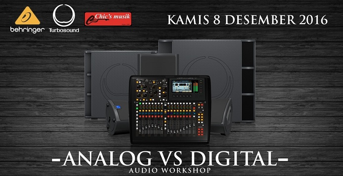 audio workshop analog digital
