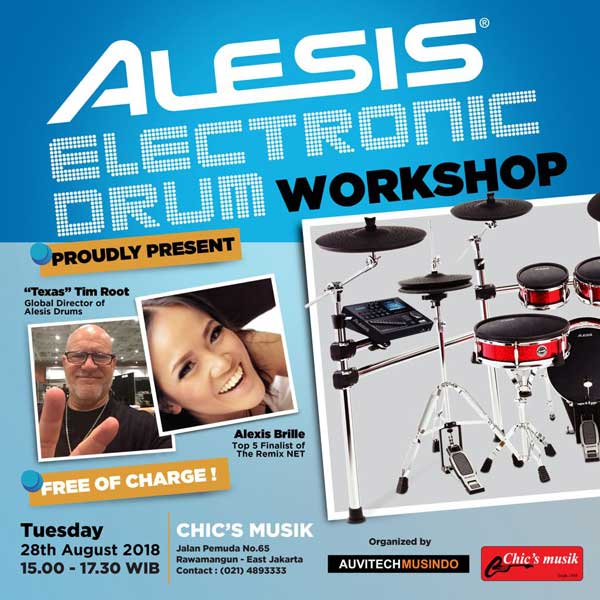 alesis drum workshop chics musik